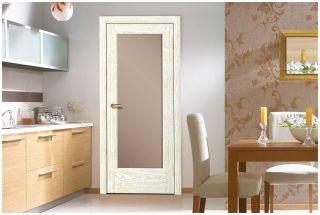 Дверь «Энома» со стеклом «Триплекс бронза»