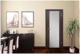 Дверь «Эллада», стекло - матовый триплекс