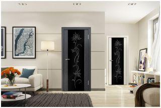 Дверь «Эллада» со стеклом триплекс «Алмека»