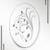 Ландыш (пескоструйная обработка + Овал гравировка)